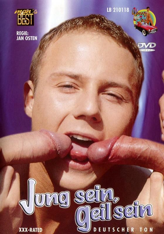 Jung Sein Geil Sein DVD - Front