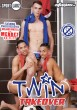 Twin Takeover DVD (NC) - Front