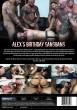 Alex's Birthday Gangbang DVD - Back