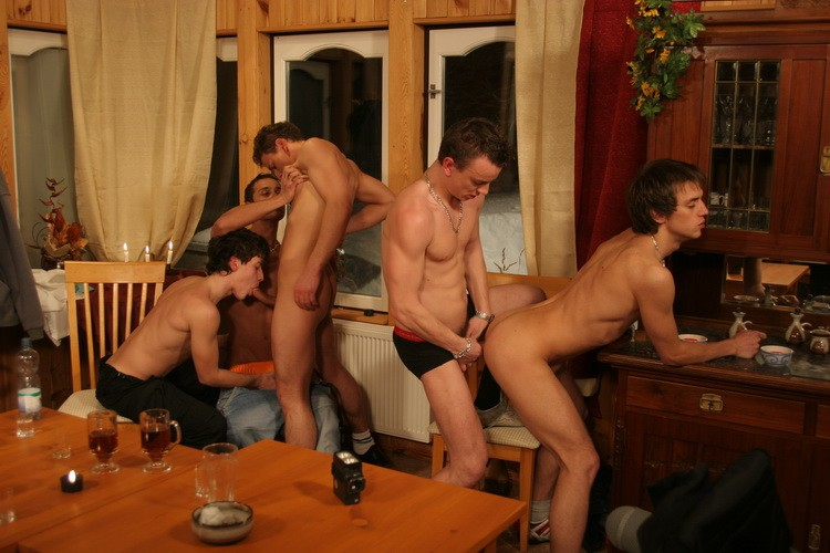 Bareback Chalet Boys DVD - Gallery - 007