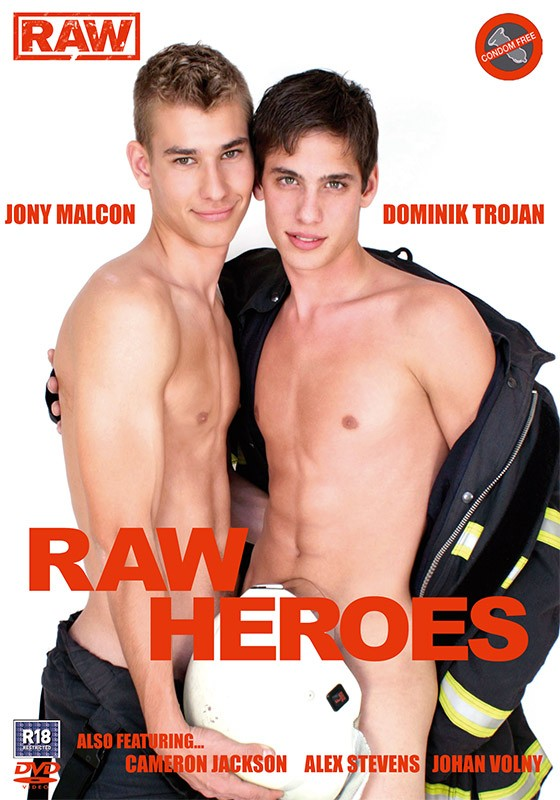 Raw Heroes DVD - Front