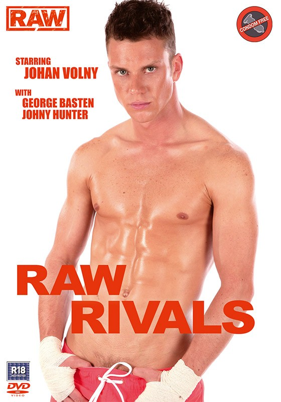 Raw Rivals DVD - Front
