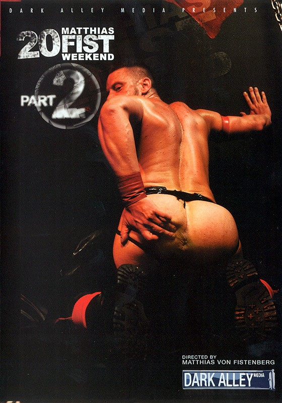 20 Fist Weekend part 2 DVD - Front
