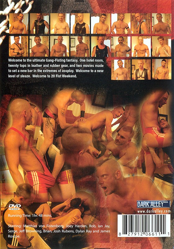 20 Fist Weekend part 2 DVD - Back