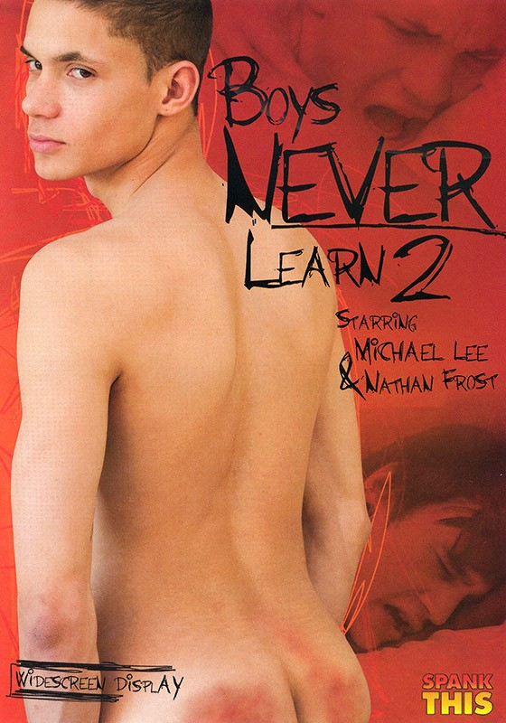 Boys Never Learn 2 DVD - Front