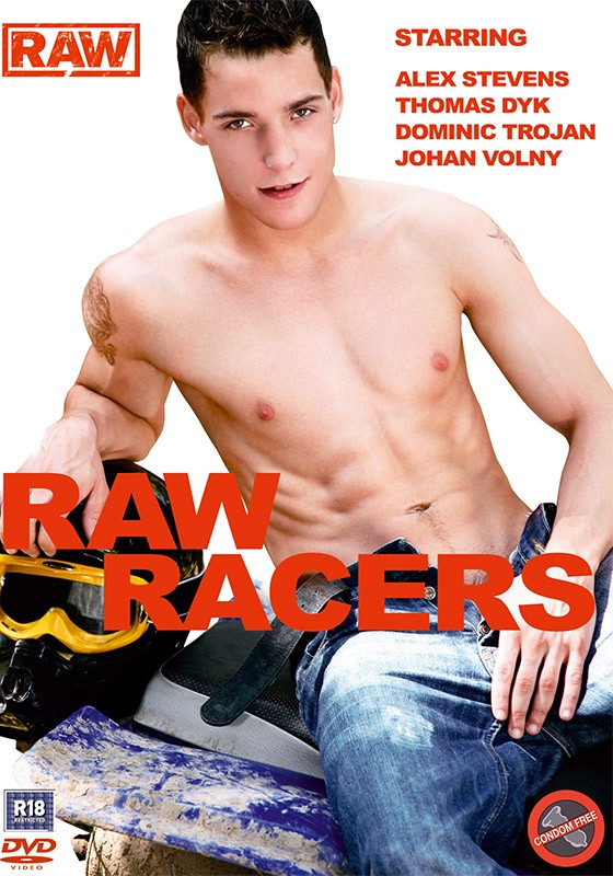 Raw Racers DVD - Front