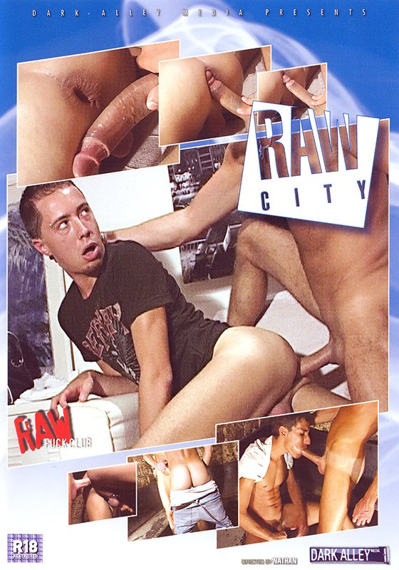 Raw City DVD - Front