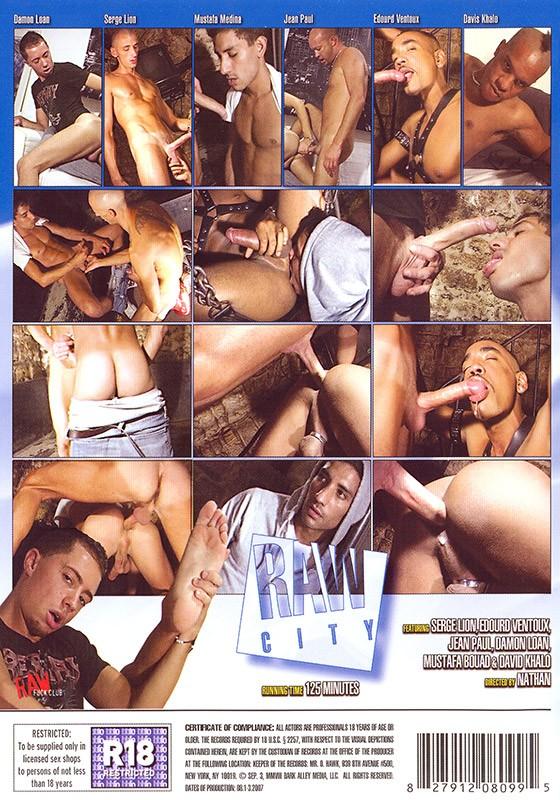 Raw City DVD - Back