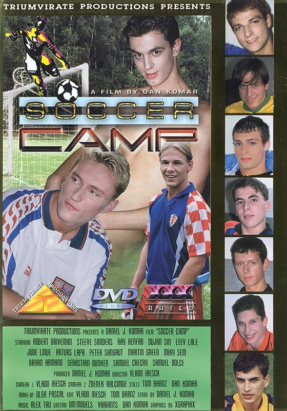 Soccer Camp DVD - Front