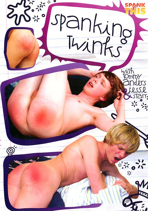 Spanking Twinks DVD - Front