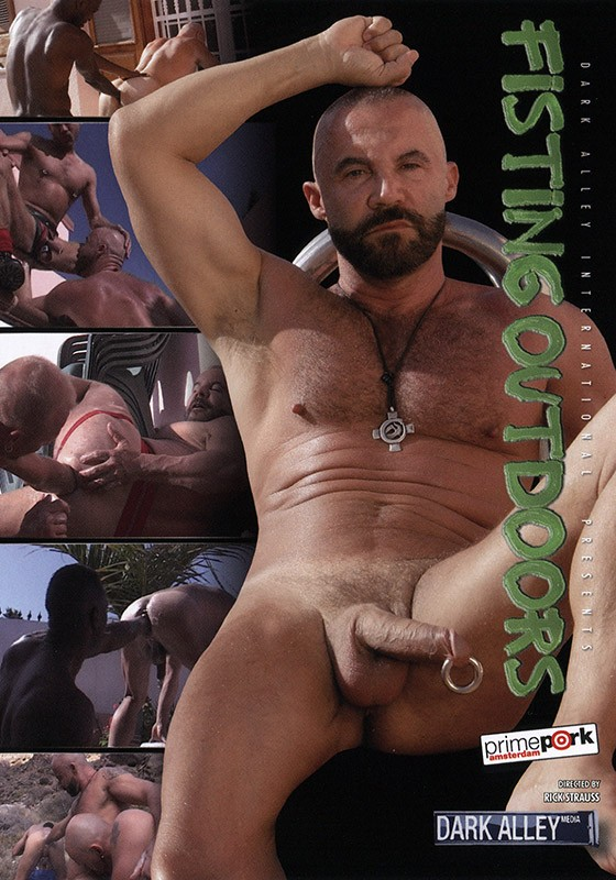 Fisting Outdoors DVD - Front