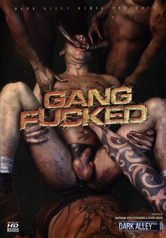 Gang Fucked DVD - Front