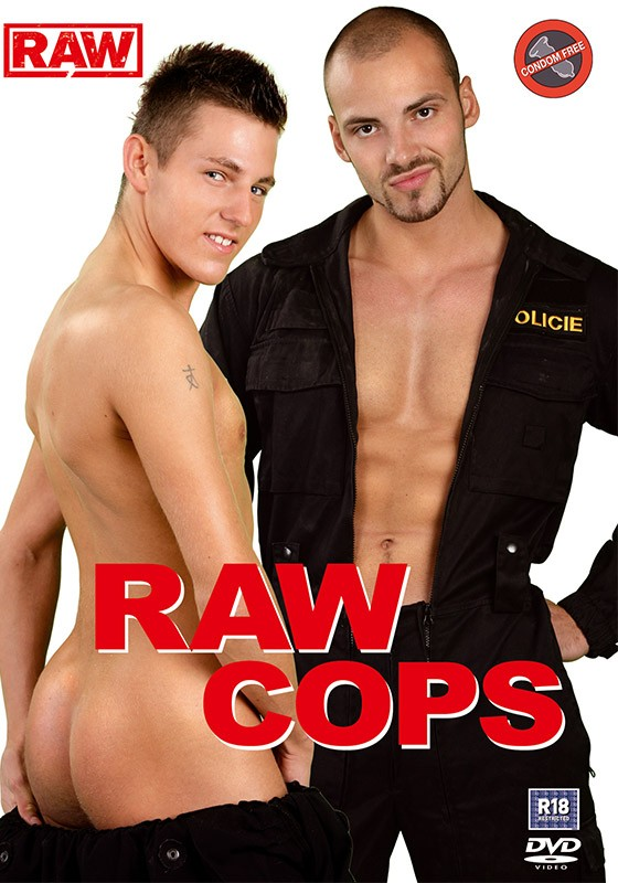 Raw Cops DVD - Front