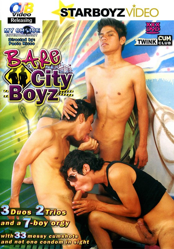 Bare City Boyz DVD - Front