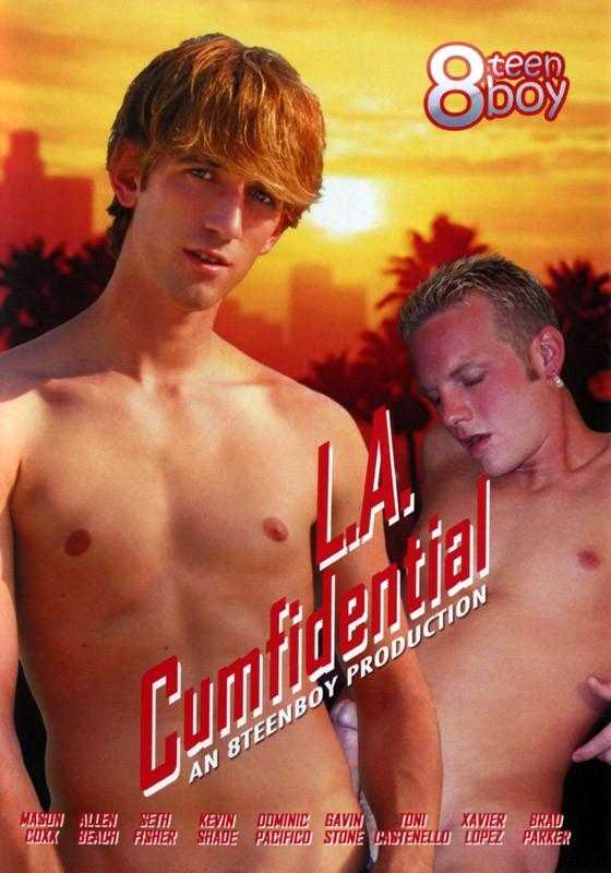 L.A. Cumfidential DVD - Front