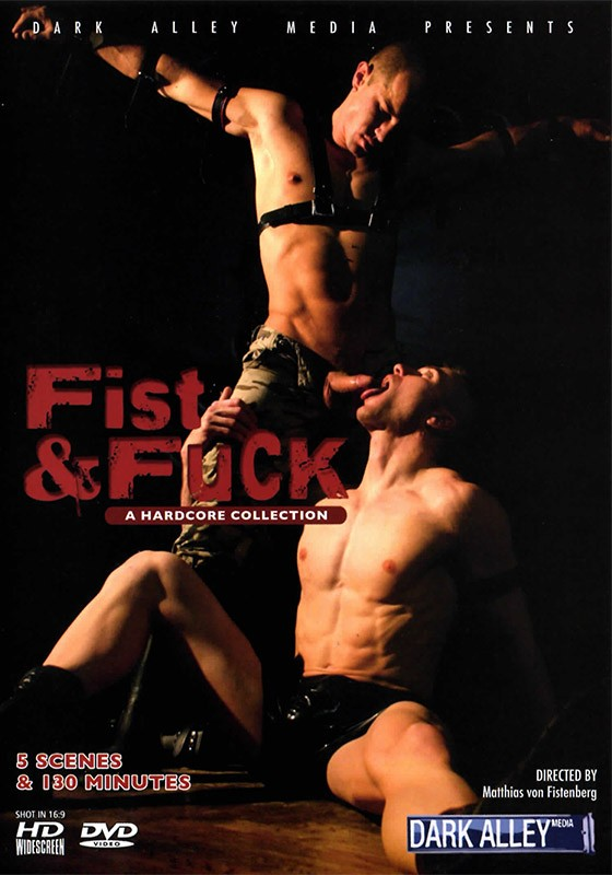 Fist & Fuck DVD - Front