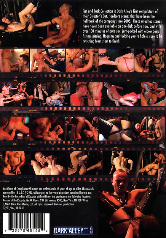 Fist & Fuck DVD - Back