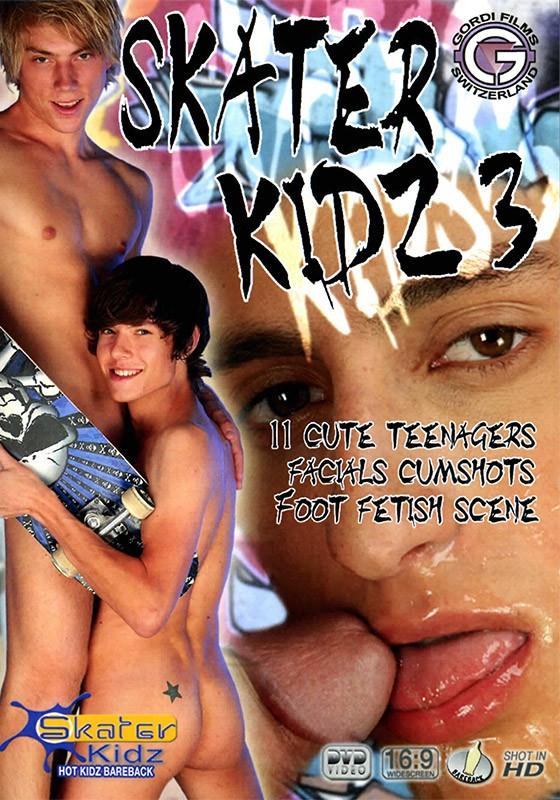 Skater Kidz 3 DVD - Front