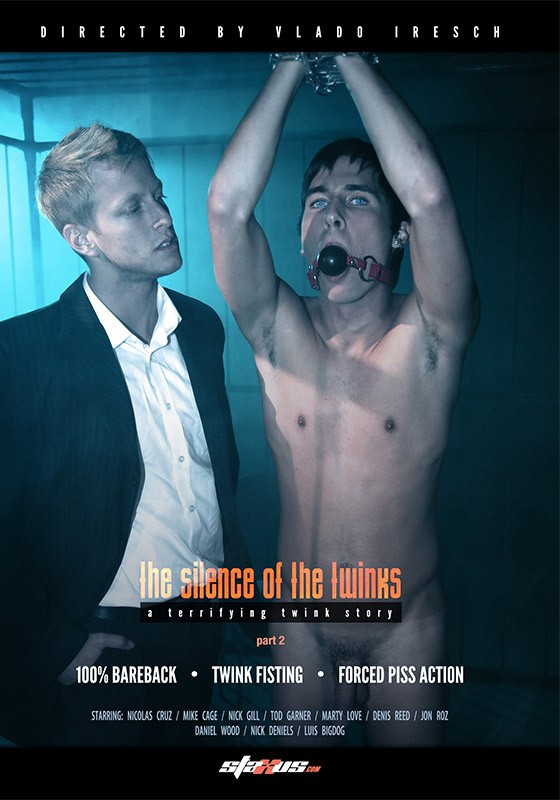 The Silence of the Twinks part 2 DVD - Front