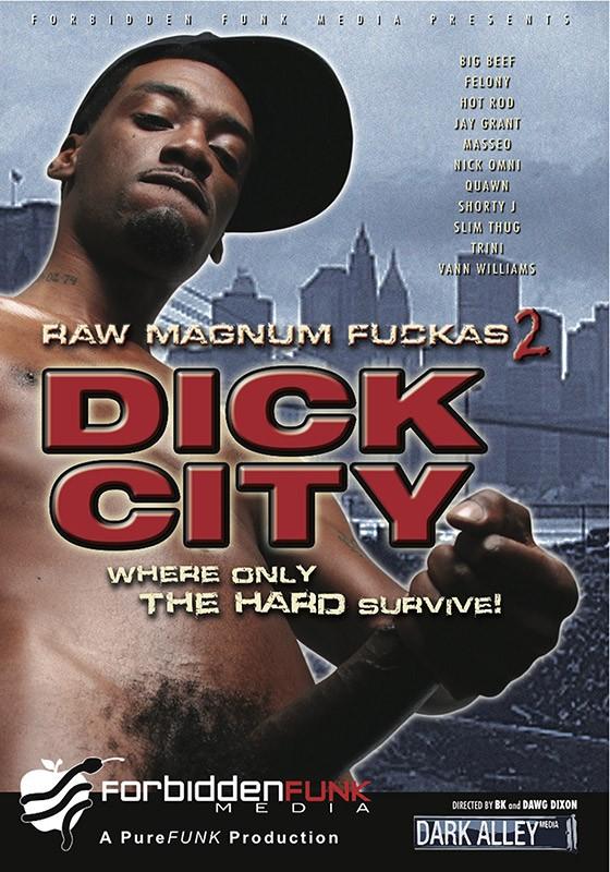 Raw Magnum Fuckas 2: Dick City DVD - Front