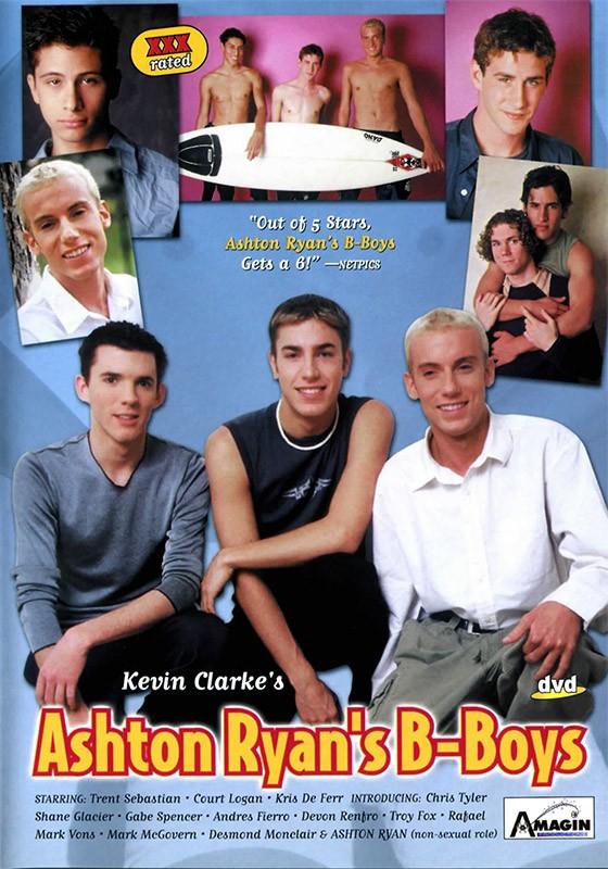 Ashton Ryan's B-boys DVD - Front