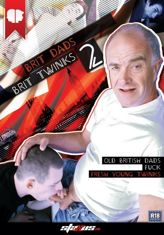 Brit Dads Brit Twinks 2 DVD - Front