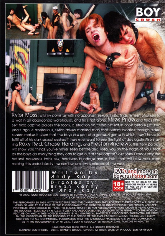 RAW 2 DVD - Back