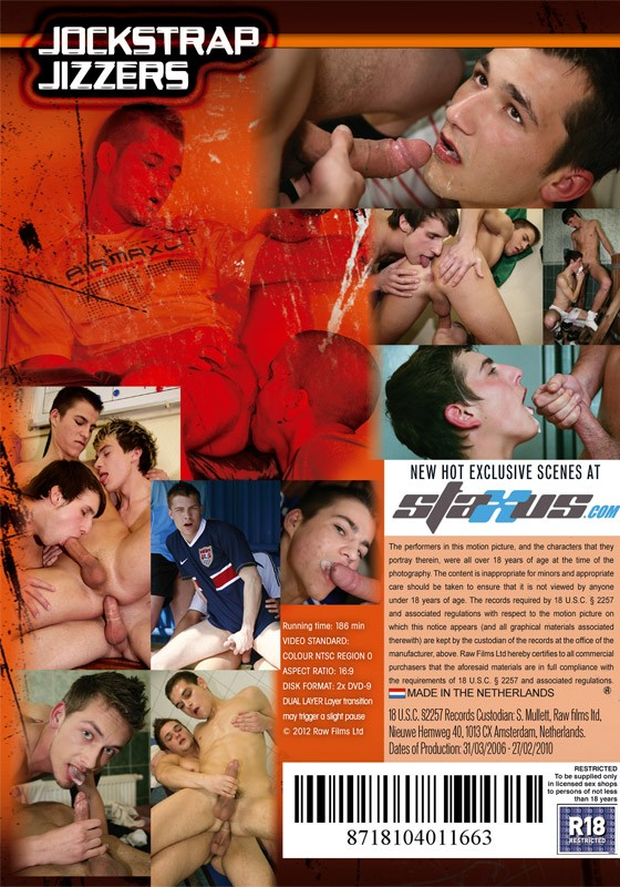 Jockstrap Jizzers DVD - Back