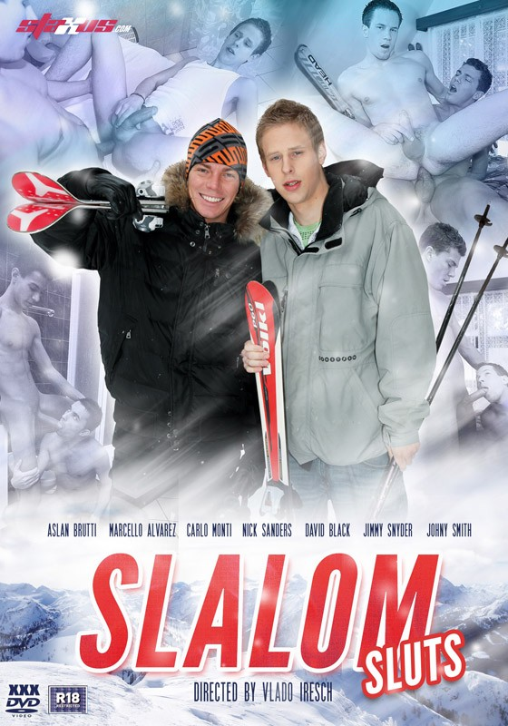 Slalom Sluts DVD - Front