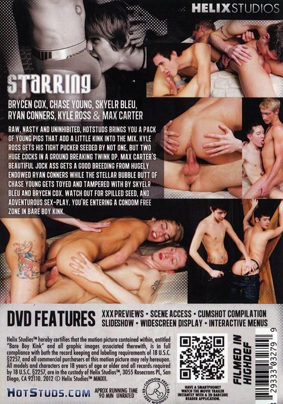 Bare Boy Kink DVD - Back