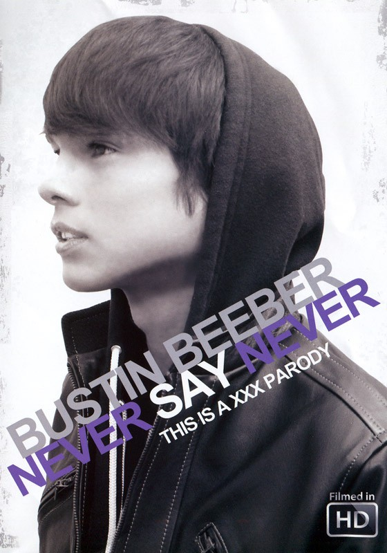 Bustin Beeber: Never Say Never DVD - Front