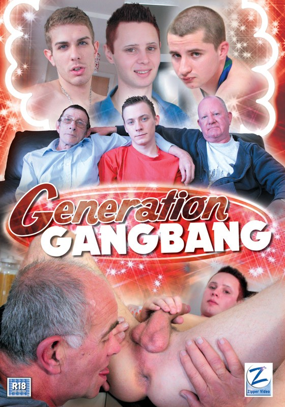 Generation Gangbang DVD - Front