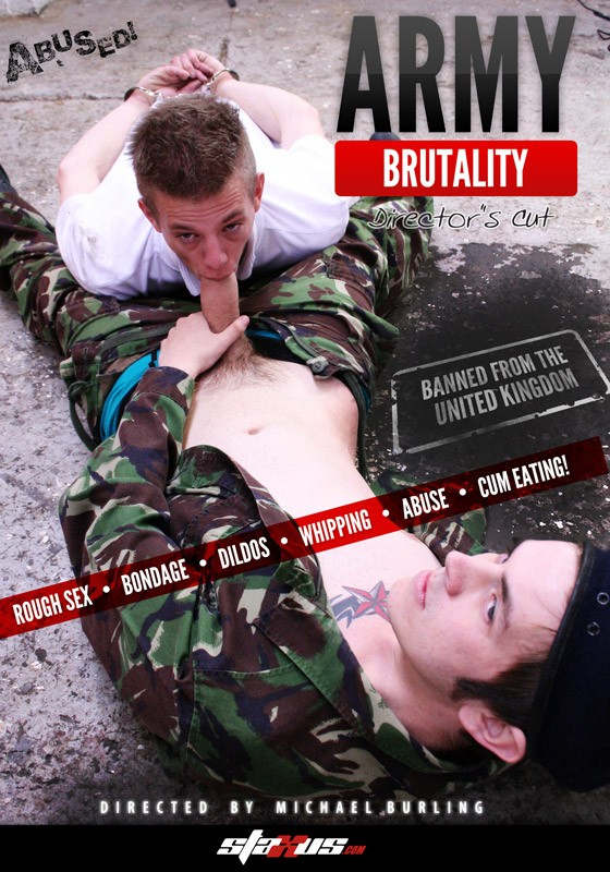 Army Brutality DVD - Front