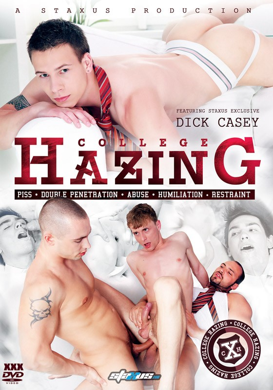 College Hazing DVD - Front