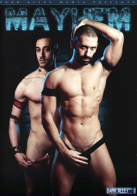 Mayhem DVD - Front
