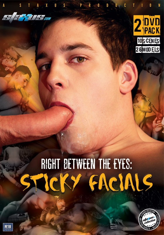 Right Between The Eyes: Sticky Facials DVD - Front