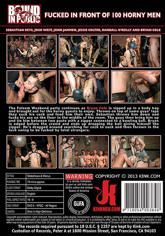 Bound In Public 30 DVD (S) - Back