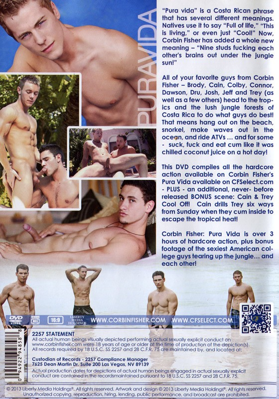 Puravida DVD - Back