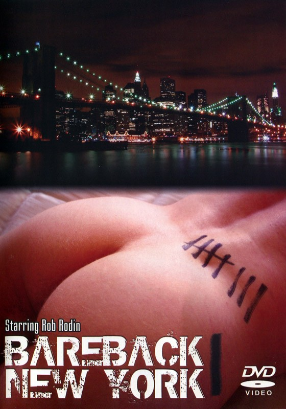Bareback New York DVD - Front