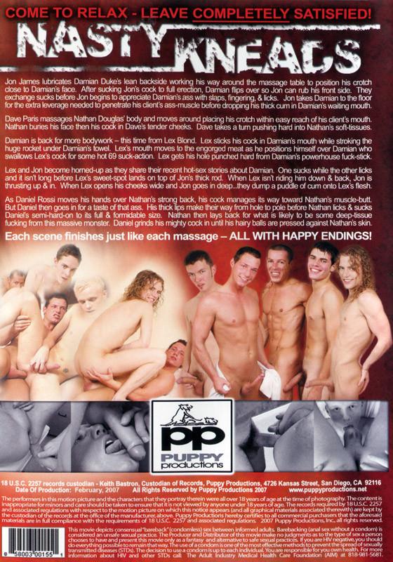 Nasty Kneads DVD - Back