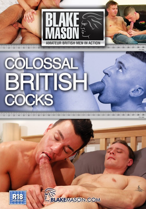 Colossal British Cocks DVD - Front