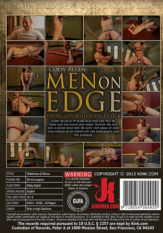 Men On Edge 6 DVD (S) - Back