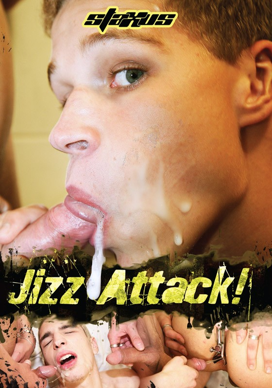 Jizz Attack DVD - Front