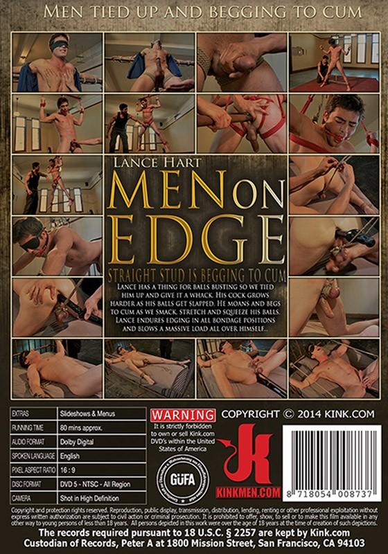 Men On Edge 13 DVD (S) - Back