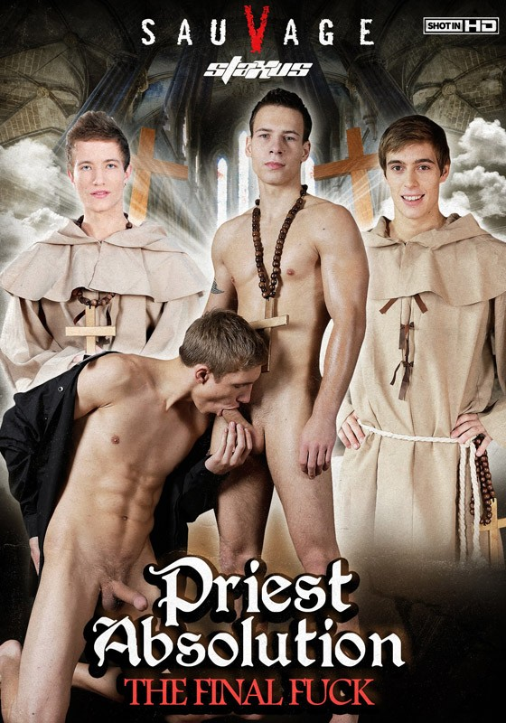 Priest Absolution - The Final Fuck DVD - Front