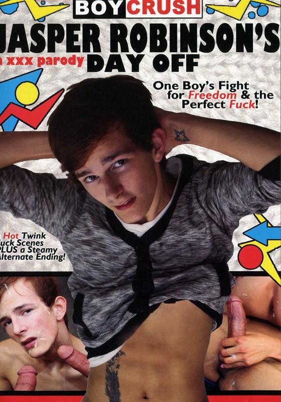 Jasper Robinson's Day Off: A XXX Parody DVD - Front