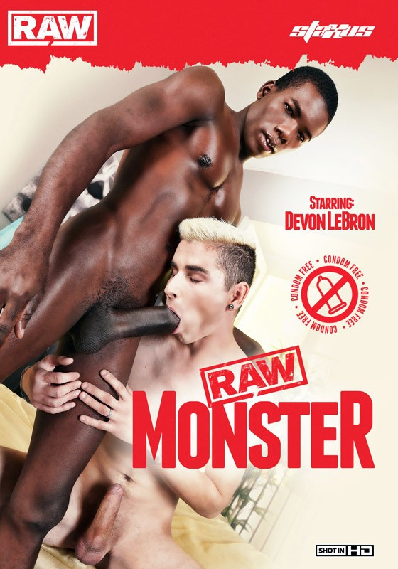 Raw Monster DVD - Front