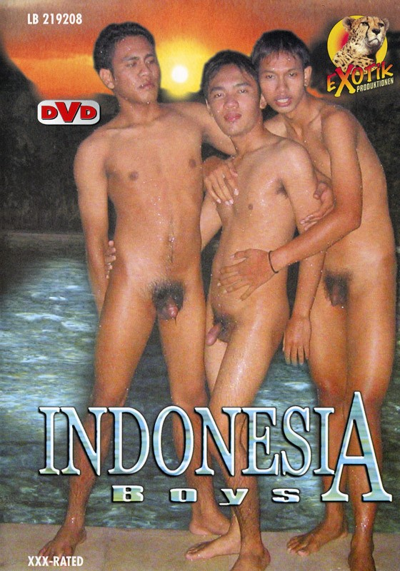 Indonesia Boys DVD - Front