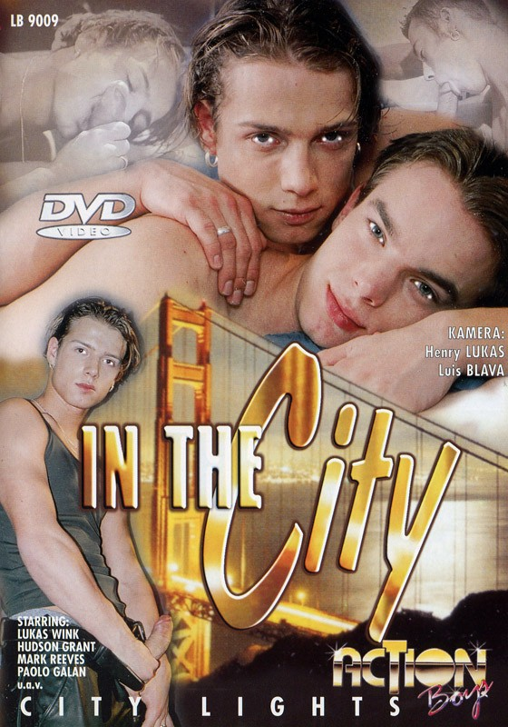 In The City DVD - Front