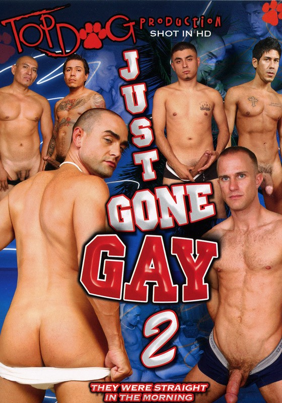 Just Gone Gay 2 DVD - Front